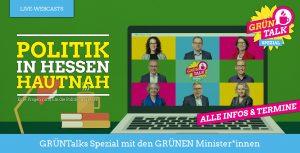GRÜNTalks Spezial mit den GRÜNEN Minister*innen - alle Infos und Termine